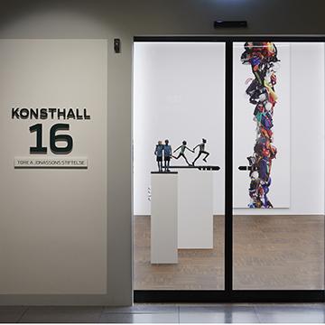 Konsthall 16, projektering Unna design