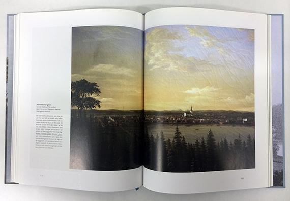 Bok om konstnären Albert Blombergsson, Hälsinglands Museum.
