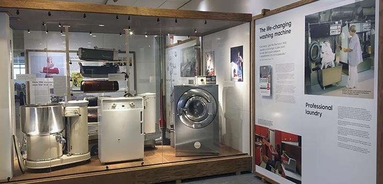 Electrolux 100 år, tvättmaskiner